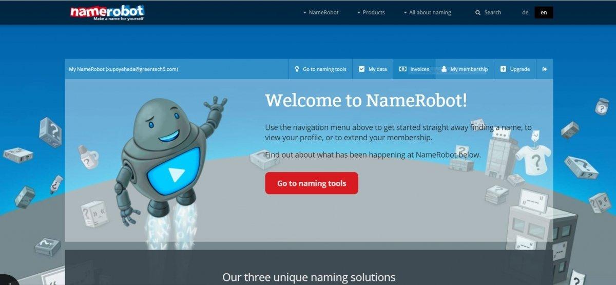 Name Robot